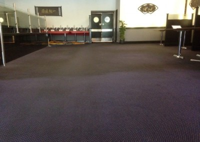 Commercial carpet clean in progress (Small)